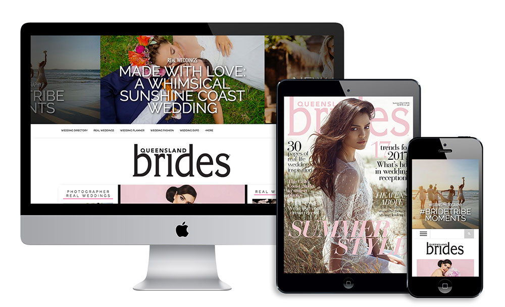 advertising with Queensland Brides magazine