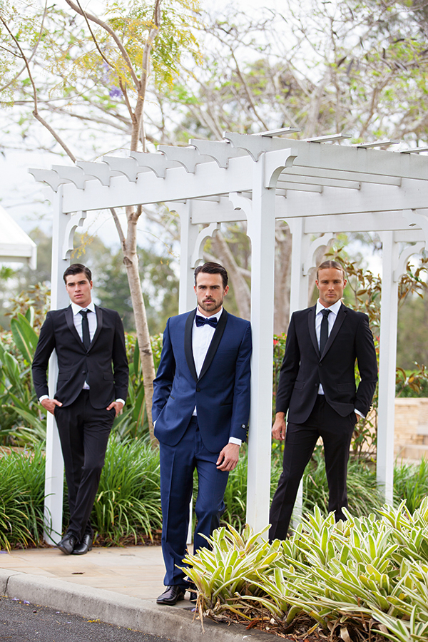 Suits and accessories from Stuart Suits