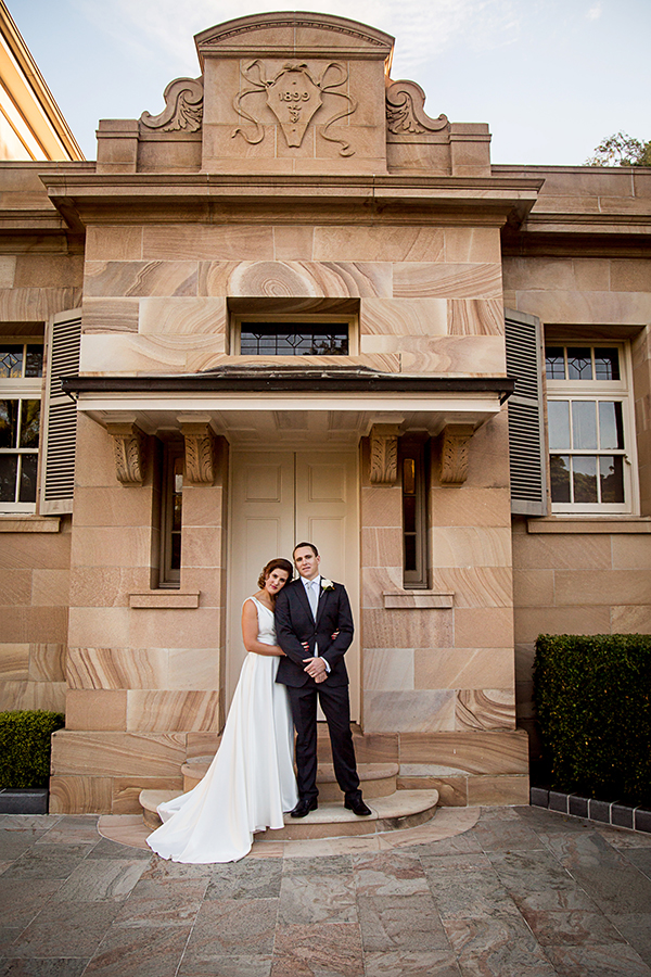 city-wedding-Real Wedding of Zoe and Luke. Photo: Quince and Mulberry Studios