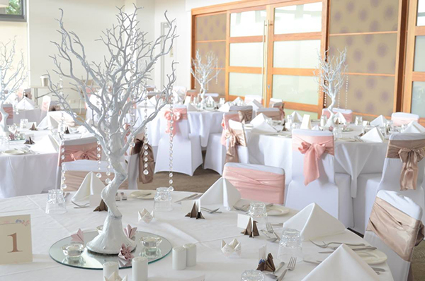 Wedding reception at Pacific Harbour Golf and Country Club