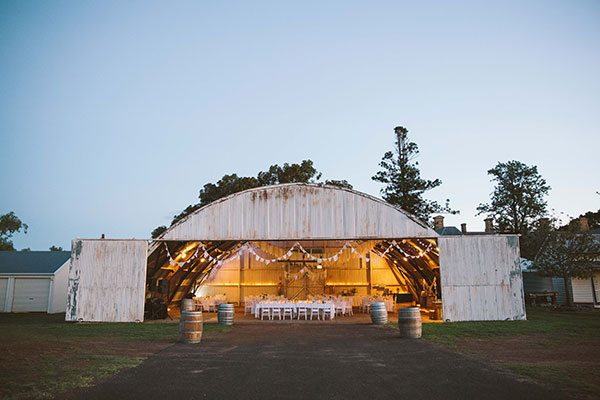 Wedding venue with a difference