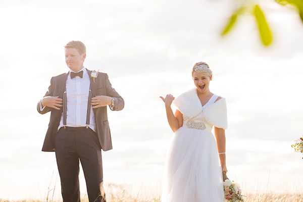 Juanita & Jake married in Brisbane. Gown: When Freddie Met Lilly. Photo: Milque Photography and Films