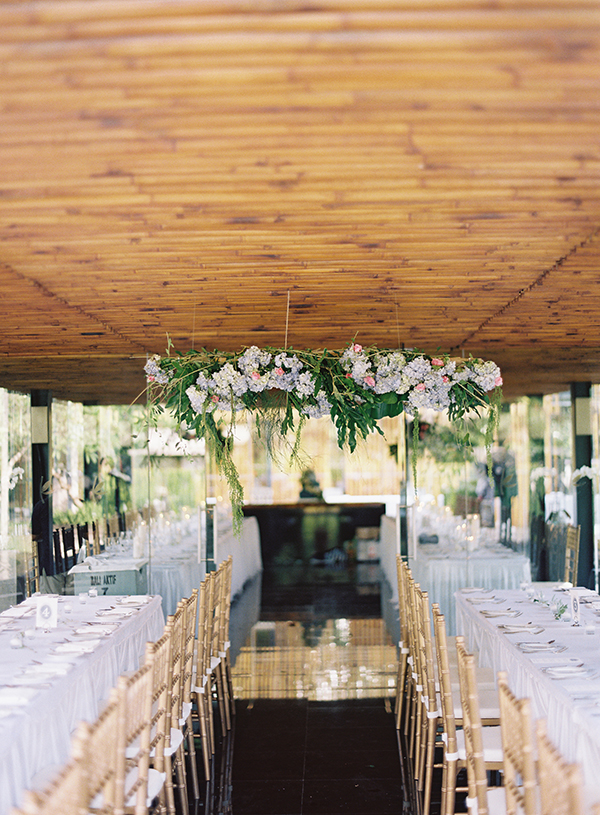 Wedding of Cathy & King at Kayumanis, Bali. Florals: Chantelle Madison