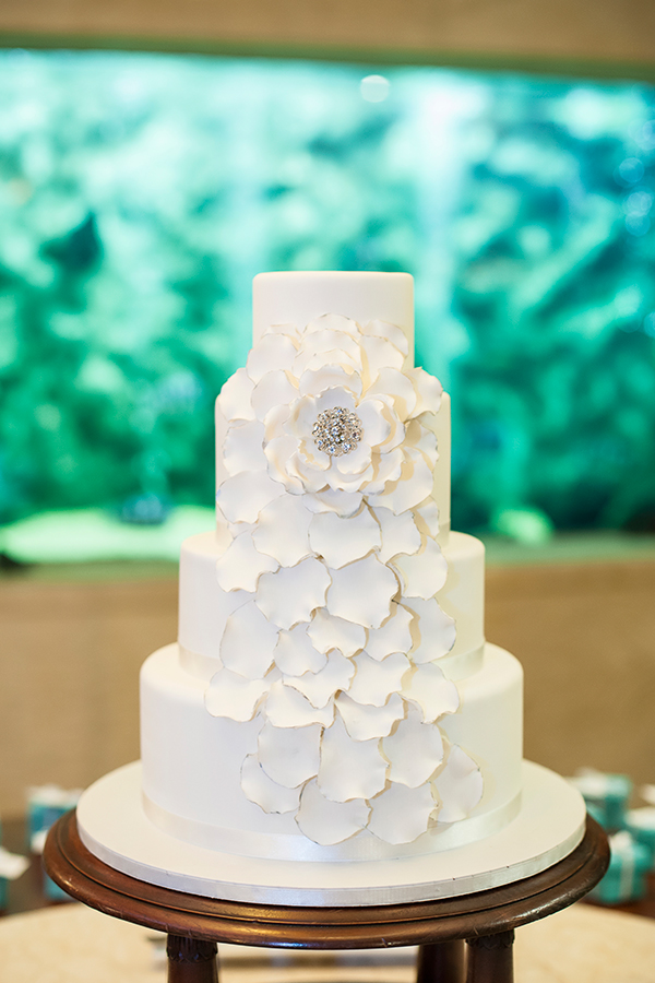 Wedding of Casey and Mark. Cake: Sweet Ideas, Airlie Beach. Brooke Miles Photography