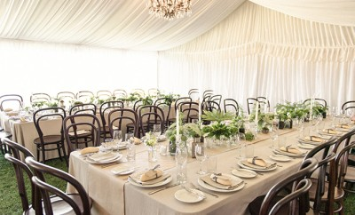 Marquee wedding inspiration