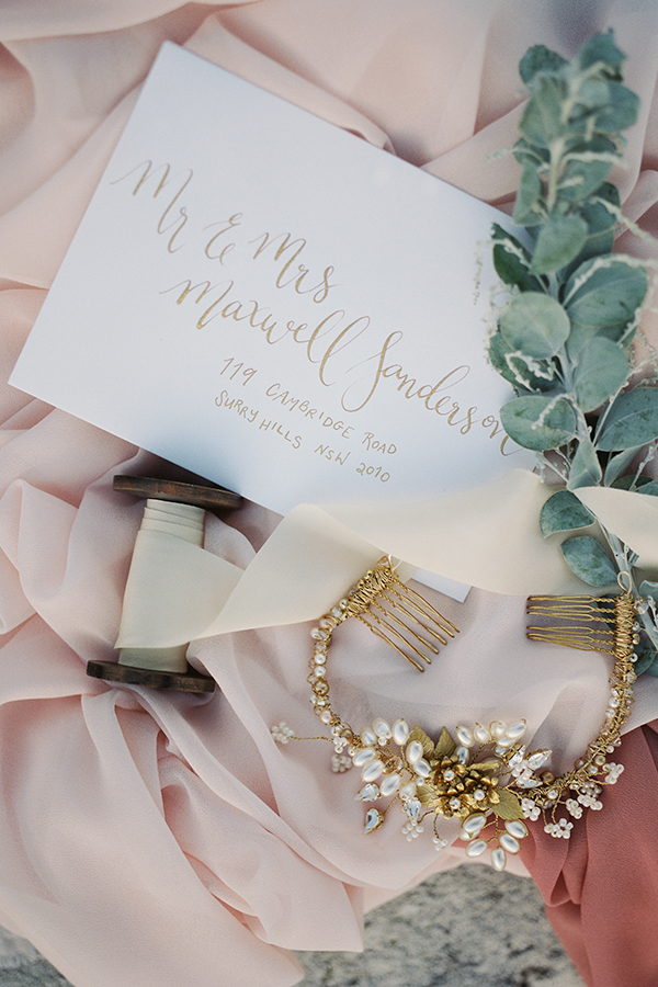 Floralovely Calligraphy. Photo: Studio 60 Photography