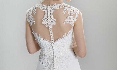 wedding dress from Sugar and Spice