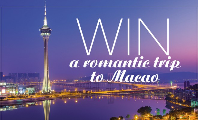Win a trip for two to Macao