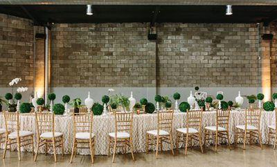 Weddings at The Joinery at West End