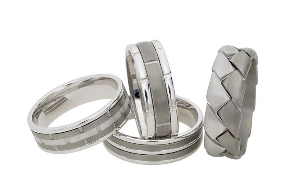 dora-white-gold-and-titanium-rings
