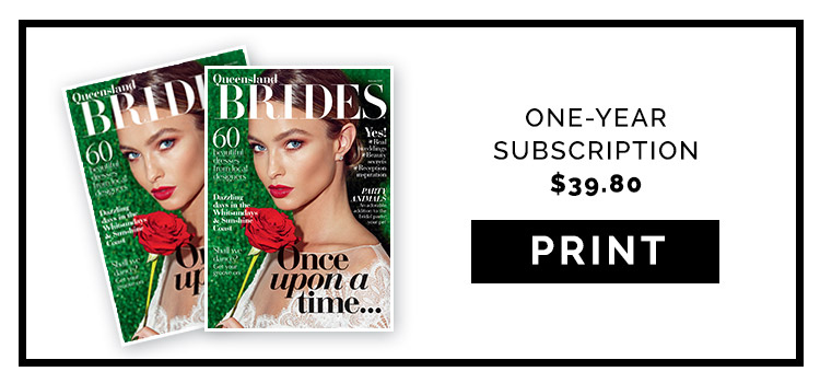 queensland brides print subscription