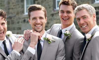Men's wedding trends with Tony Barlow