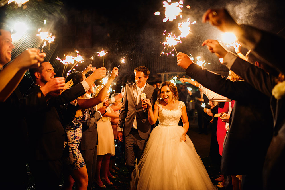The wedding of Holly and Robby. Photo: Boots Photography