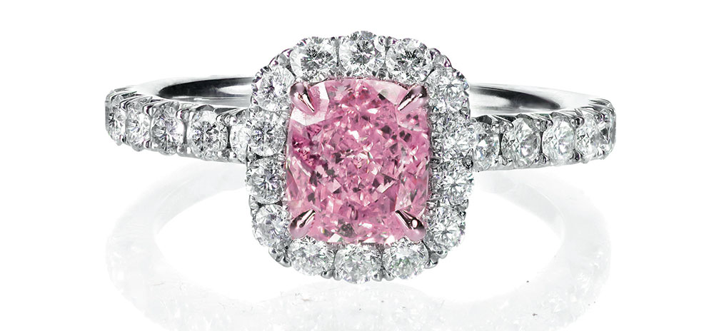 Pink diamond. Everything you need to know about engagement rings