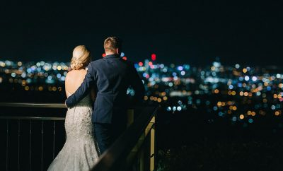 Marie and Kyle wedding the Summit Mount Coot-tha