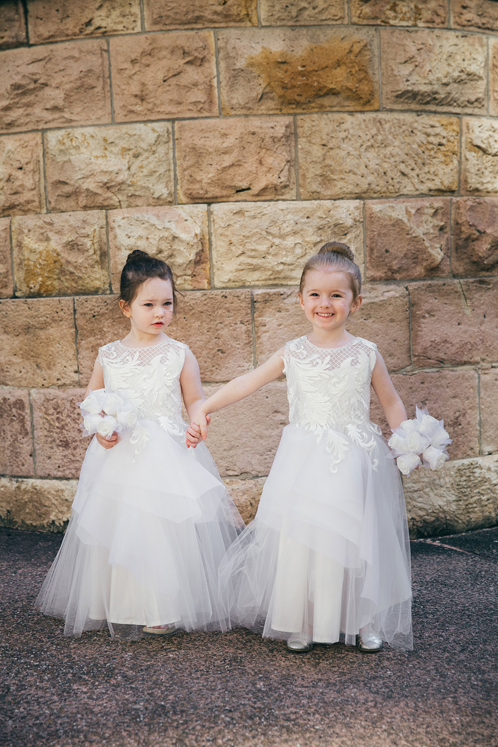 Sweet little flowergirls