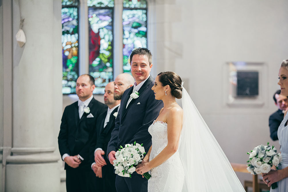 The wedding of Janelle and Kristopher