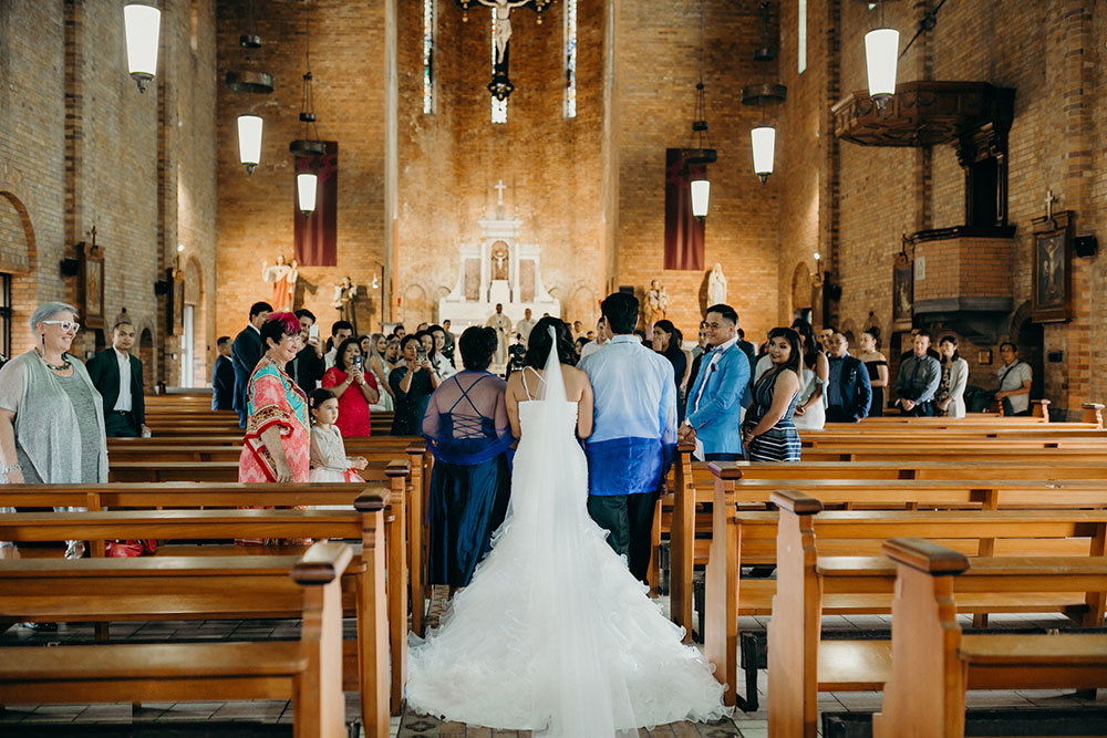 The wedding of Eireen and Warren