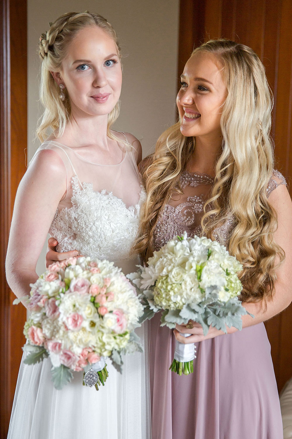 Jess and her gorgeous bridesmaid