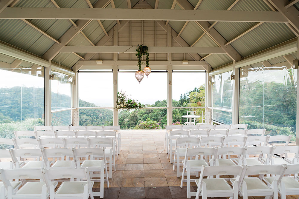 The stunning ceremony venue