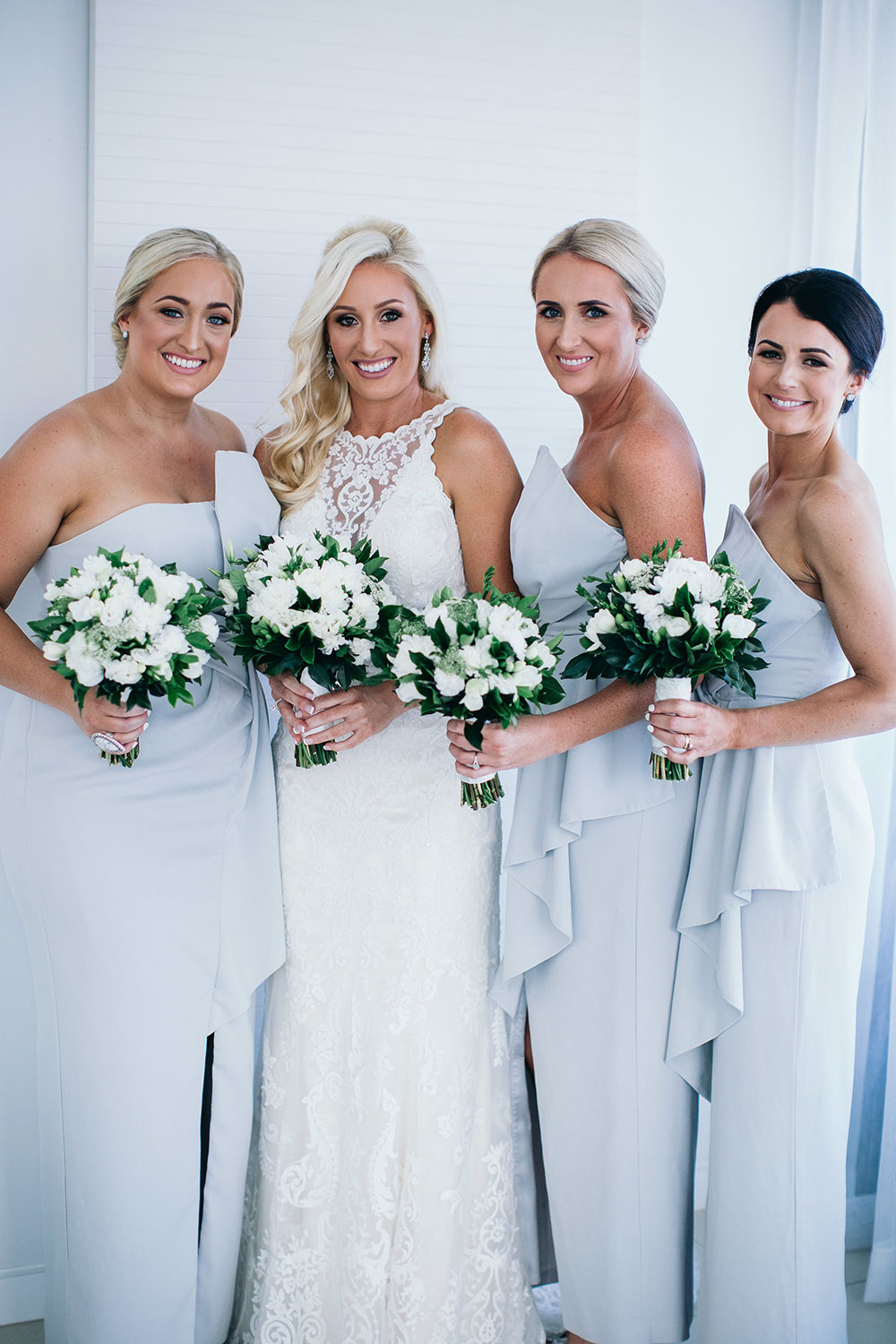 Laura and her bridesmaids