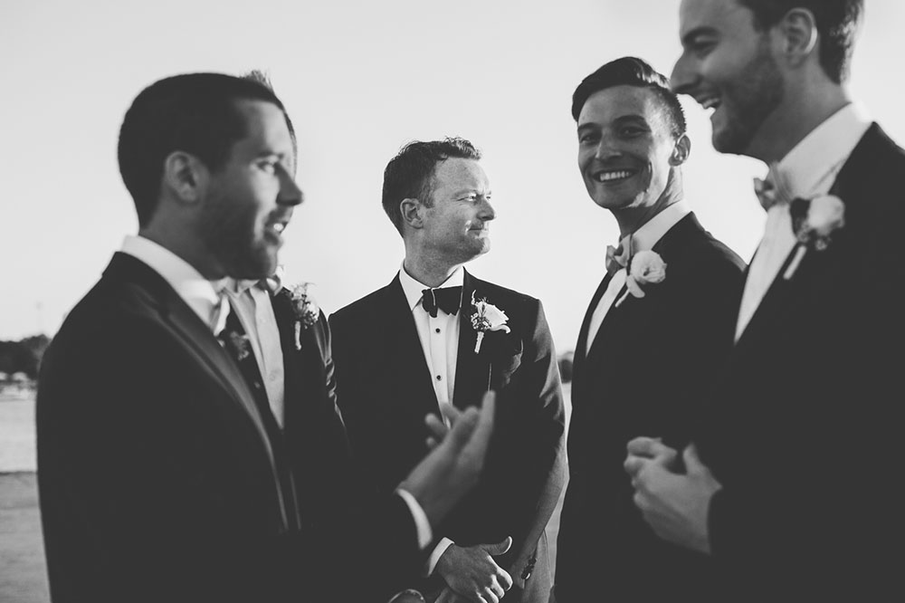 Marty and his groomsmen