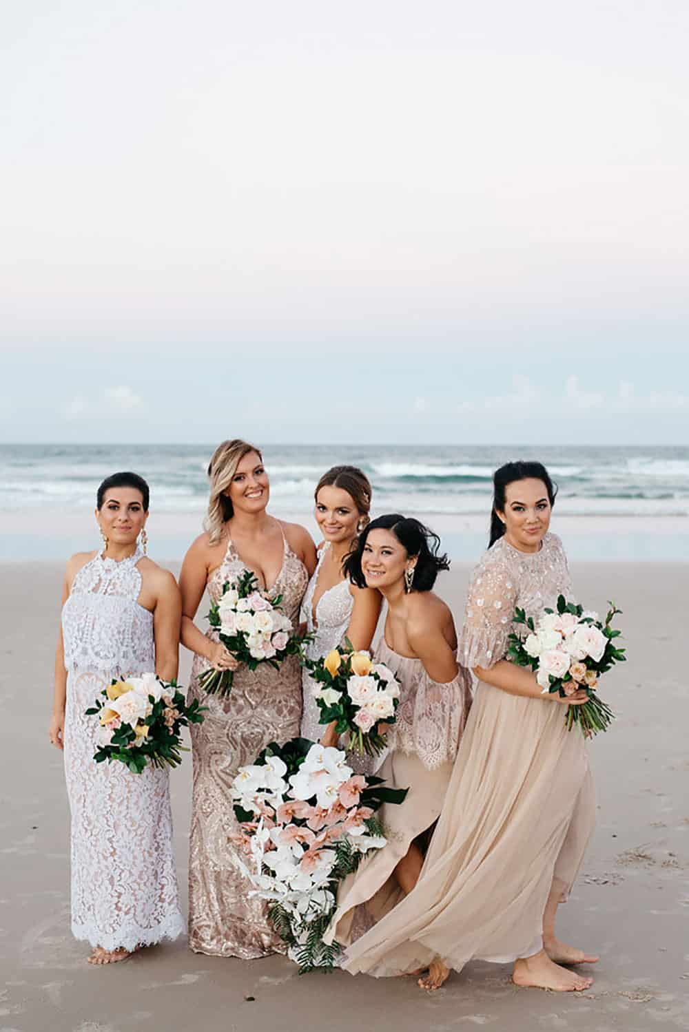 Hayley and her bridesmaids