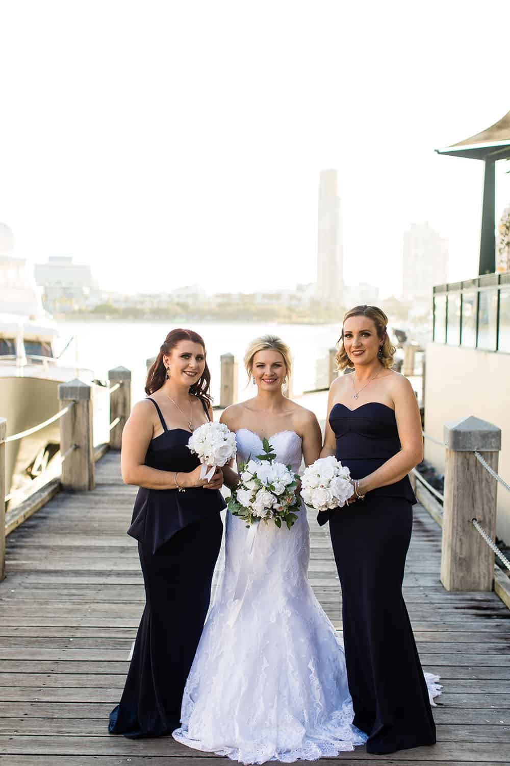 Renee and her bridesmaids