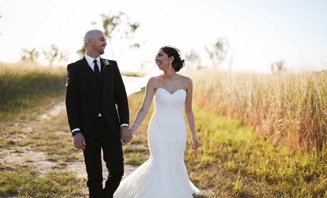The wedding of Lisa-Marie + Dale