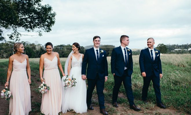 The wedding of Meaghan + Liam