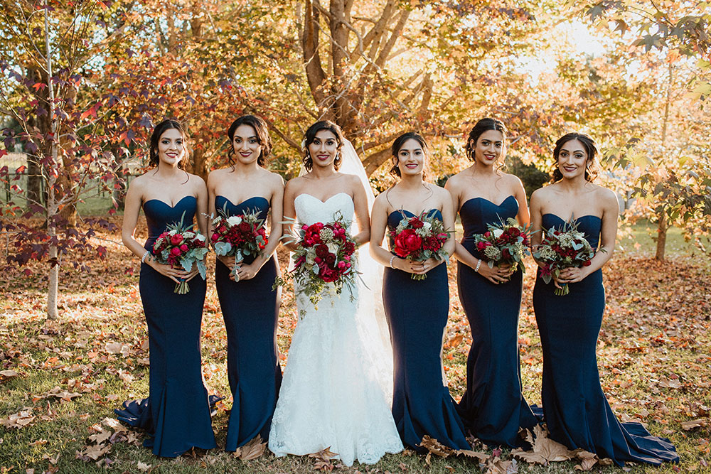 Brianna and her bridesmaids