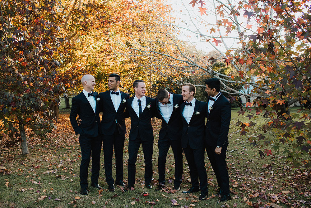 Troy and his groomsmen