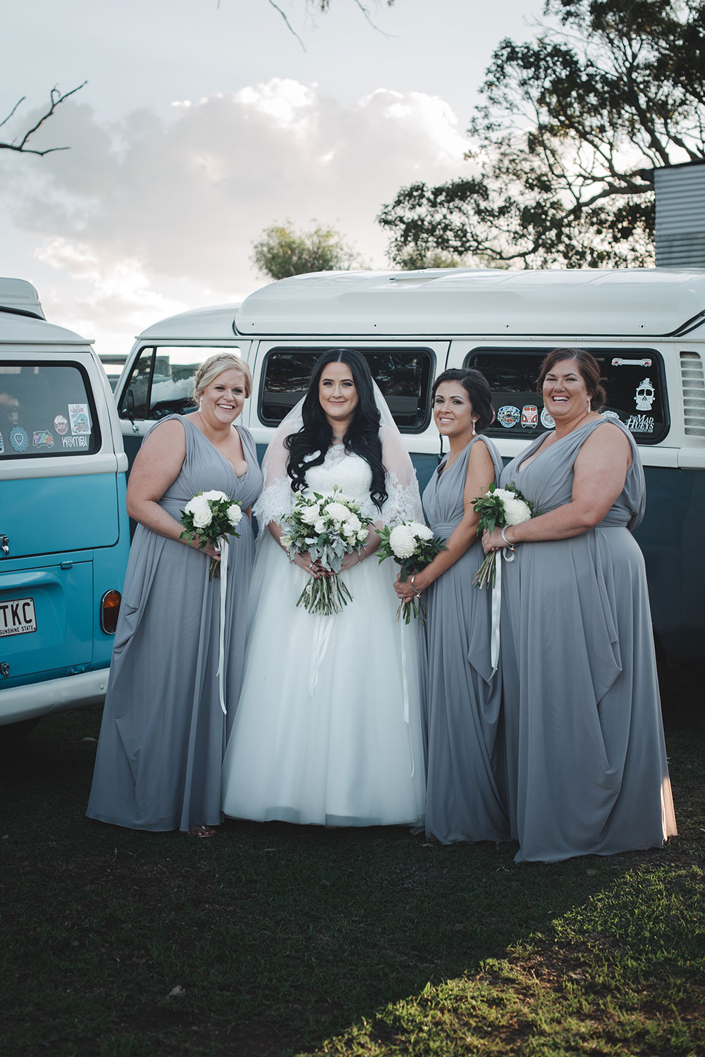 Julieanne and her bridesmaids