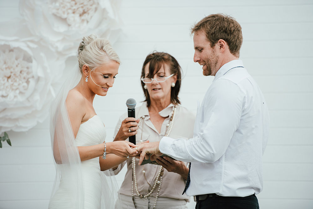 The exchanging of rings