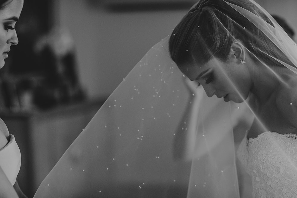 Putting on the veil