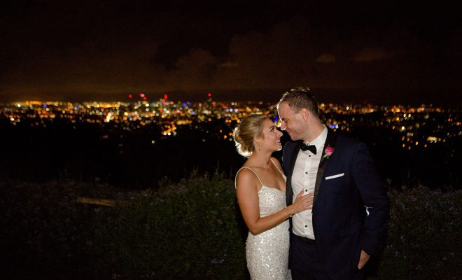 Camille & Tony's wedding at the Summit Restaurant Brisbane