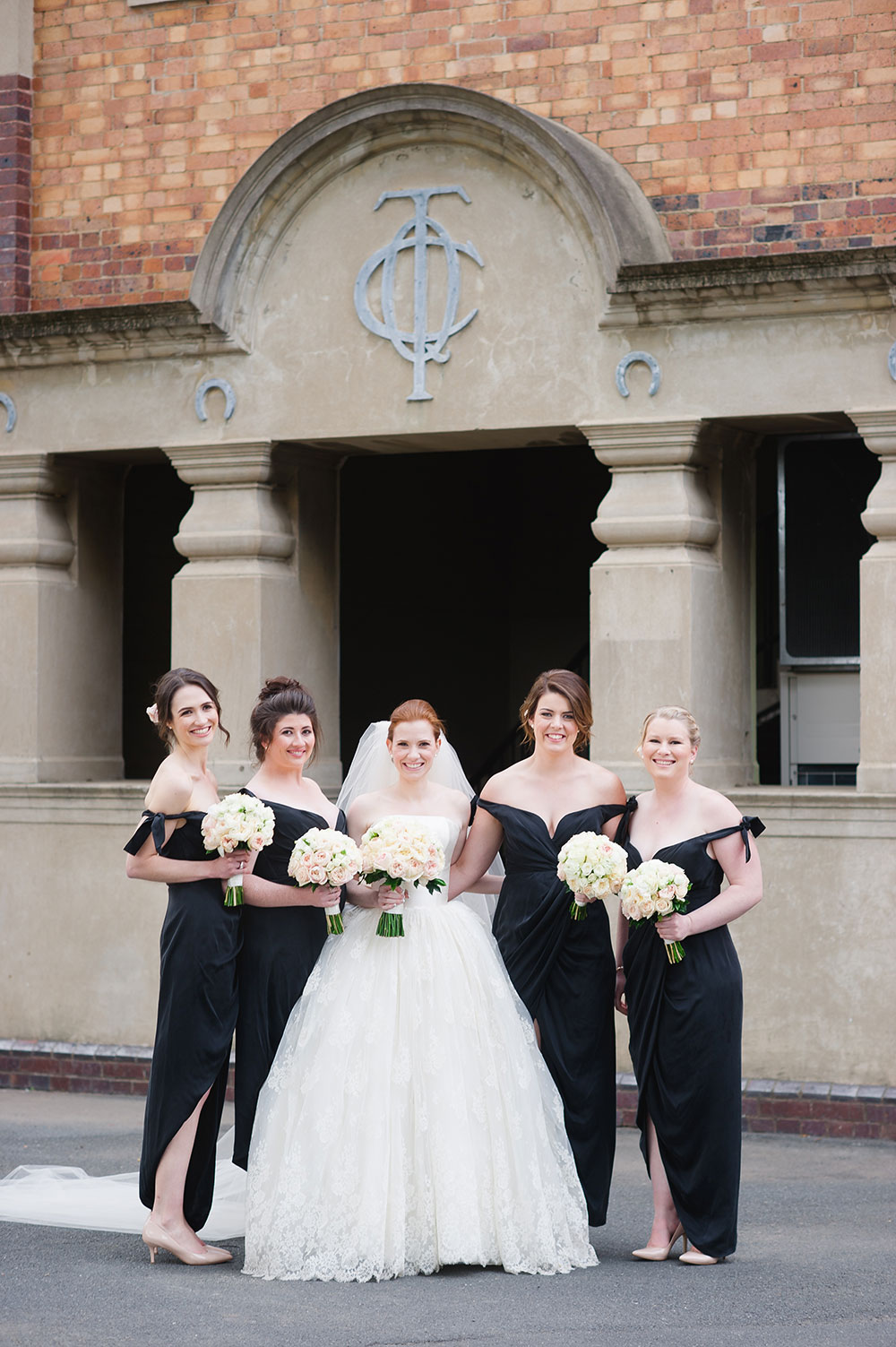Annabel and her bridesmaids