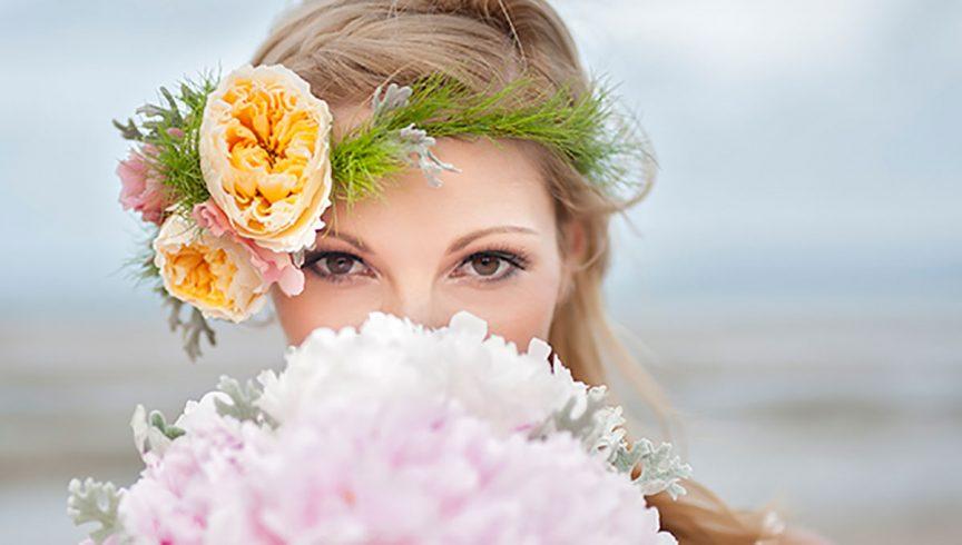 style beach wedding