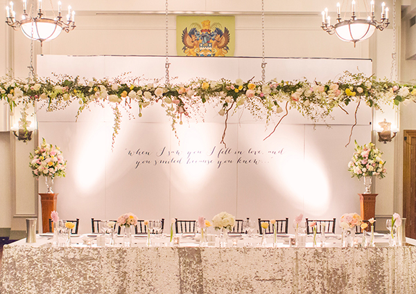 Wedding of Grace & Chris at The Brisbane City Hall. Styling: Main Event Weddings. Photo: Studio Impressions Photography