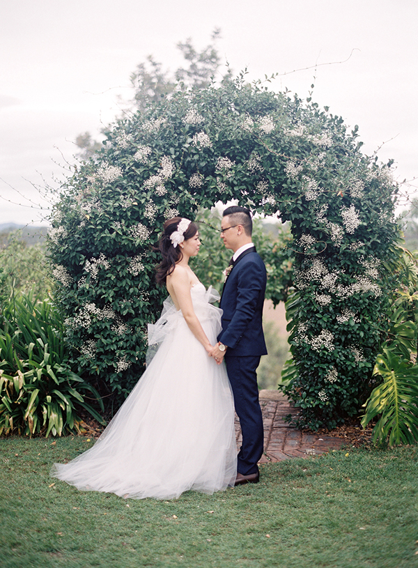 Wedding of Ivette and Roger at Spicers. Photo: Byron Loves Fawn