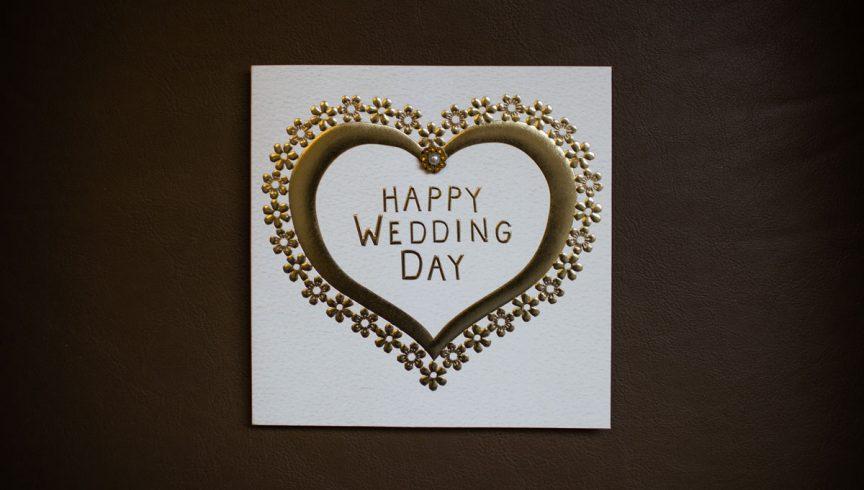 wedding wishes 20 ways to write in a wedding card queensland brides