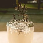 Wedding cake trend: metallic cakes