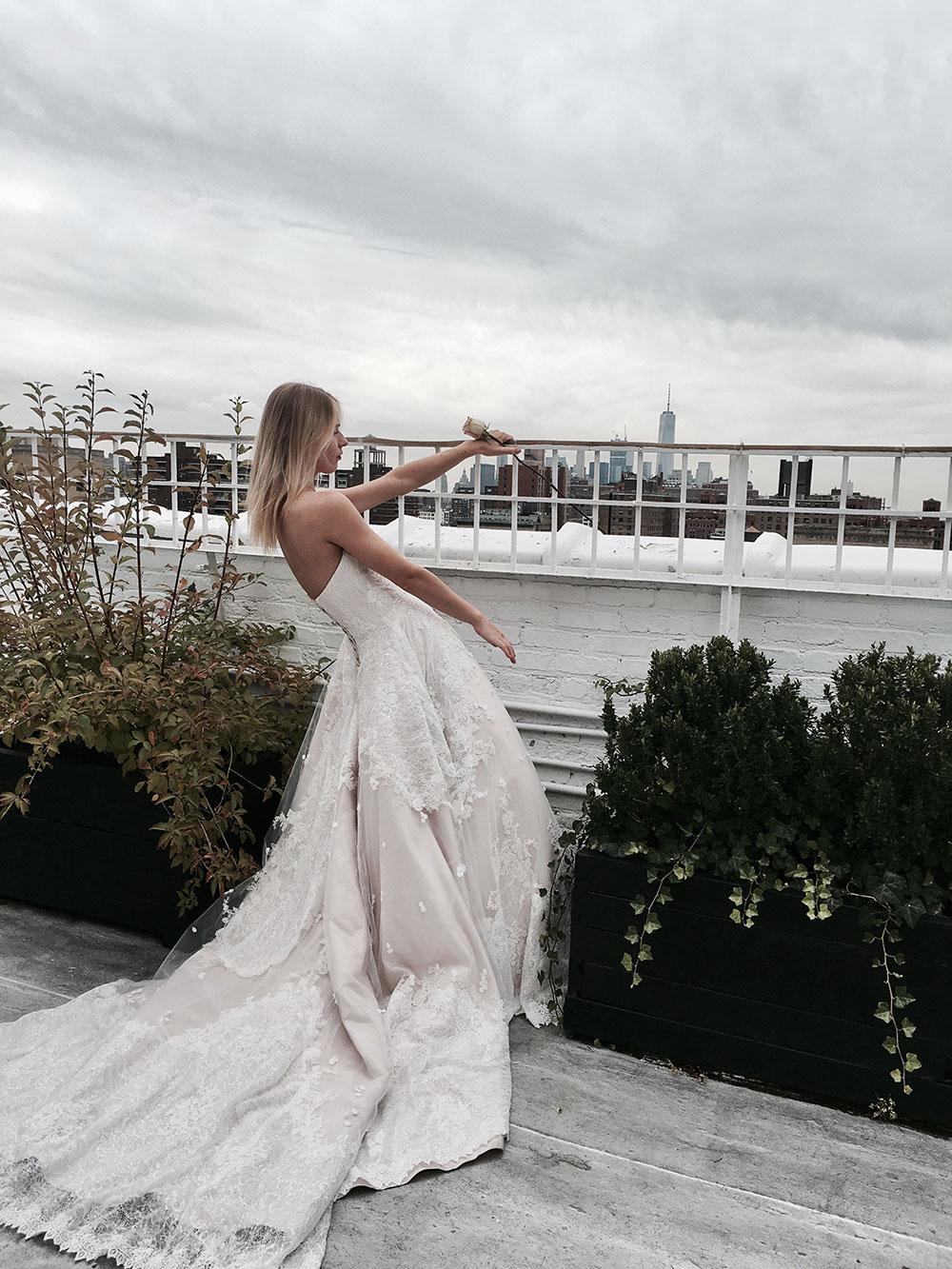 Jack Sullivan wedding gown.
