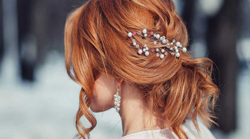 Spring Bridal hair inspiration.