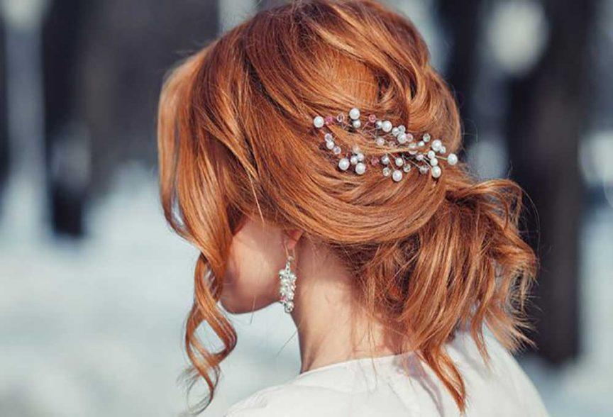 Spring Bridal hair inspiration.