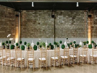 wedding reception at The Joinery