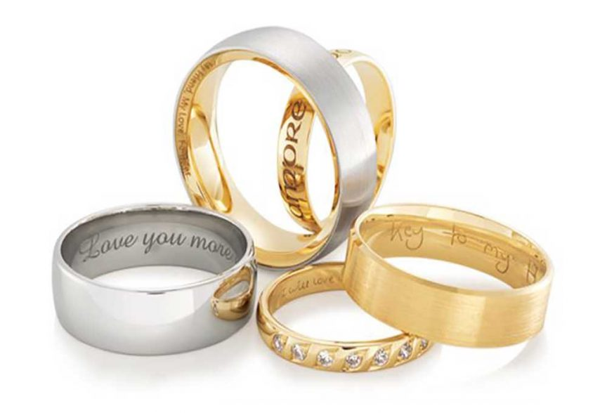 Mens wedding band trends