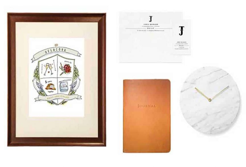 First Wedding Anniversary Gift Ideas - Queensland Brides
