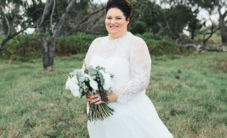 This Queensland Plus Size Bride Loved Her Wedding Dress And So Do