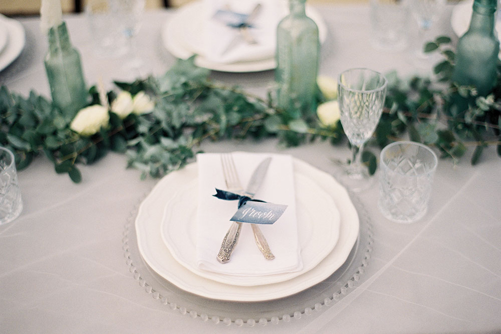 coastal colours for weddings